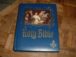 Masonic Heirloom Holy Bible Master Reference Red Letter Edition Large