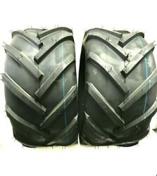 Two 23x10.50-12 Fieldmaster Style Tires Lug Ag 23x10.5-12 Very Wide 23 1050 12
