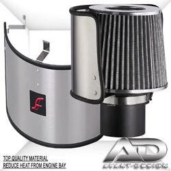 Af Dynamic Universal Stainless Steel Heat Shield Cover For 3.5-6.5 Air Filter