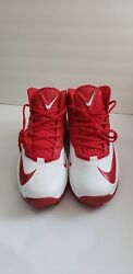 Nike Zoom Elite Code 3/4 Shark Menand039s Size 13.5 Red And White New In Box Cleats