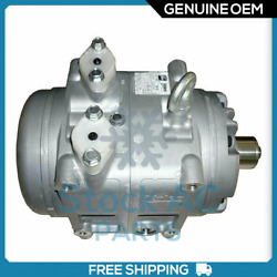 New Valeo Ac Compressor Tm-55 / 65 - Genuine Oem - If You Need Clutch Contact Us