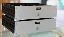 Pair Of Hypex Nc500 Mono Amplifier Pair With Noratel Transformers 240/120v