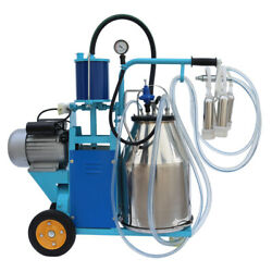 Electric Milking Machine For Farm Cows 304 Stainless Steel Bucket Cow Milker Us