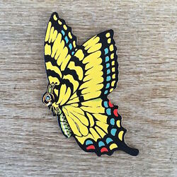 Original Sign BUTTERFLY INSECT DIECUT Dimestore Cardboard Figural DISPLAY