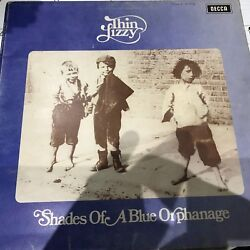 Thin Lizzy 1972 Lp Shades Of A Blue Orphanage Orig Uk Decca Txs 108 Vg++/ex-