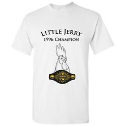 Little Jerry Funny Chicken Rooster Champion TV Show T Shirt