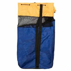 Champion Sports Multi-sport Duffle Bag Blue And Gold