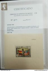 O1938 Spain Statue Of Liberty Spanish Antilles And Us Flag -us Constitution -s