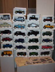 History Of Chevrolet Diecast Complete Collection 25 National Motor Museum Mint