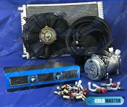 A/c-kit Universal Under Dash Evaporator 450 Blue Big Size Cars And Electric Harne