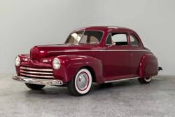 1946 Ford Deluxe Coupe Street Rod 1946 Ford Deluxe Coupe Street Rod 1668 Miles Burgundy Coupe 350ci 3-Spd Auto