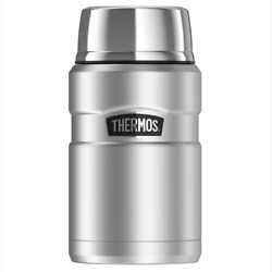 Thermos Stainless King Vacuum Insulated Food Jar 710ml Wide Mouth, Serving Bowl
