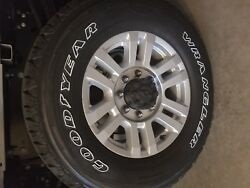 Ford F350/250 Superduty Aluminum Rims And Tires 18