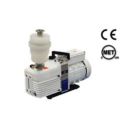 156 L/m Double Stage Rotary Vane Vacuum Pump With Exhaust Filter And Kf-25 Suite