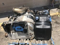 Freightliner Cascadia 125 Diesel Particulate Filter DPF Tank and Pump
