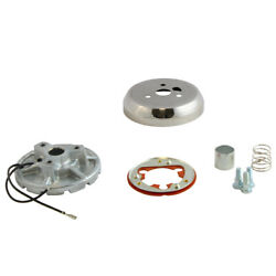 3-hole Steering Wheel Polished Hub Adapter For Ford Trucks//bronco 69-91