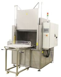 Spray Washing Rinsing And Drying 47 Inch Turn Table