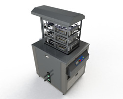 Multi-Tier Surgical Ultrasonic Cleaner For Cannulated Instruments