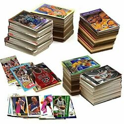 Huge Lot 600 Nba Basketball Cards In A Gift Box W/ 1 Sealed Pack And Jordan Card