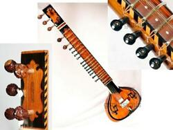 SITAR TAJ STANDARD BEAUTIFULLY DESIGNED WITH GIG BAG GSM008G C