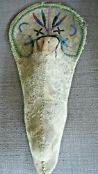 Rare Early Native American Indian Doll W/ Cradleboardbook Piecemuseum Quality