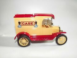 Ertl Diecast Metal 1913 Ford Model T Truck Case Tractors Old Abe Eagle Logo