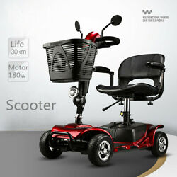 2019 New product high quality electric wheelchair for elderly scooter