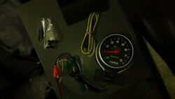 Pro Cycle Auto Metertachometer Recall For Harley Dyna Sportster 3-3/8 Drag Race