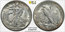 1928 S Liberty Walking Silver Half Dollar Secure Pcgs Ms Mint State Unc