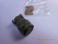 Ms3126f16-26sw Connector With Strain Relief