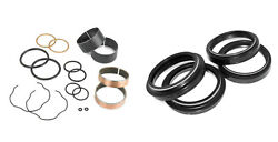 Fork Bushings Oil And Dust Seals Kit Fit Yamaha Yz125 2001 2002 2003