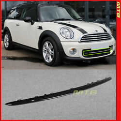 Lower Grille Trim Gloss Black For Mini Cooper 11-15 Moulding Piece Front Bumper