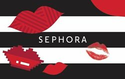 Sephora Gift Card $25 $50 or $100 Email delivery