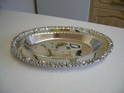 Vintage Hecworth Reproduction Old Sheffield Silver Plated Oval Dish 2203