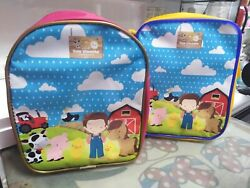 My Little Farm Animals Favors Personalized Bags Backpacks Themed Pack of 25