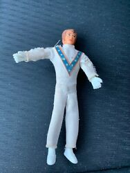 1972 Ideal Evil Knievel Bendable Action Figure Toy Doll Nice Paint