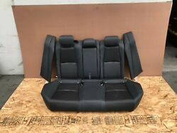 Honda Accord 2018-2019 Oem Rear Upper And Lower Seats Seat Black/ Leather. 8k