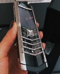 Genuine Vertu Signature S Design Stainless Steel