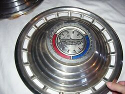 Set 4 Classic Vintage 1963 Ford Galaxie 500 14 Wheel Covers Hub Caps Hubcaps
