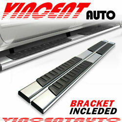 For 2015-2021 Ford F150 Super Crew Cab 6 Running Board Nerf Bar Side Step S/s H