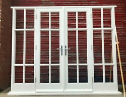 Bespoke Hardwood French Doors With Sidelights High Quality Made To Measure