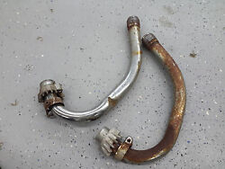 1979 Honda Cx500 Cx Gl 500 Deluxe H706. Exhaust Header Pipes Tubes Collector