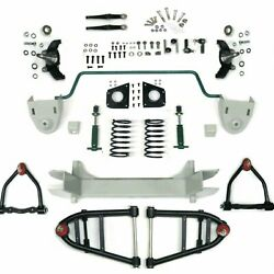 Mustang Ii 2 Ifs Front End Kit For 55-69 Ford Fairlane W Shocks Springs Swaybar
