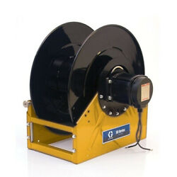 Graco 24r504 Xd70 1-1/2 Inlet/outlet Bare Reel Npt 12v Electric Motor Yellow