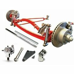Rhd 1928-1931 Ford Model A Super Deluxe Four Link Solid Axle Kit Hot Rod Nascar