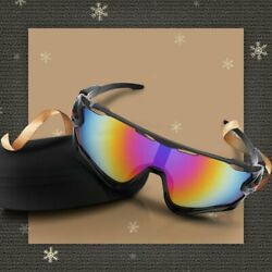 Black Professional Polarized Cycling Glasses Sports Outdoor Sunglasses US $21.84