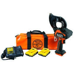 Klein Tools Bat20gd1 Battery-operated Ehs Closed-jaw Cable Cutter 2 Ah