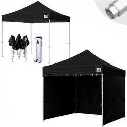 Aluminum Ez Pop Up Canopy Outdoor Tent 10x10 Commercial Patio Gazebo +roller Bag
