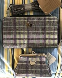 Buxton New Ultimate Organizer Wallet And Coin Purse Set