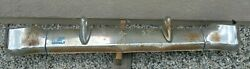 X Chevy Chevrolet Bel Air Belair Nomad New Plated Chrome Rear Bumper 1956 Oem